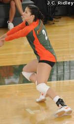 Lane Carico Collects CoSIDA Volleyball Academic Accolades