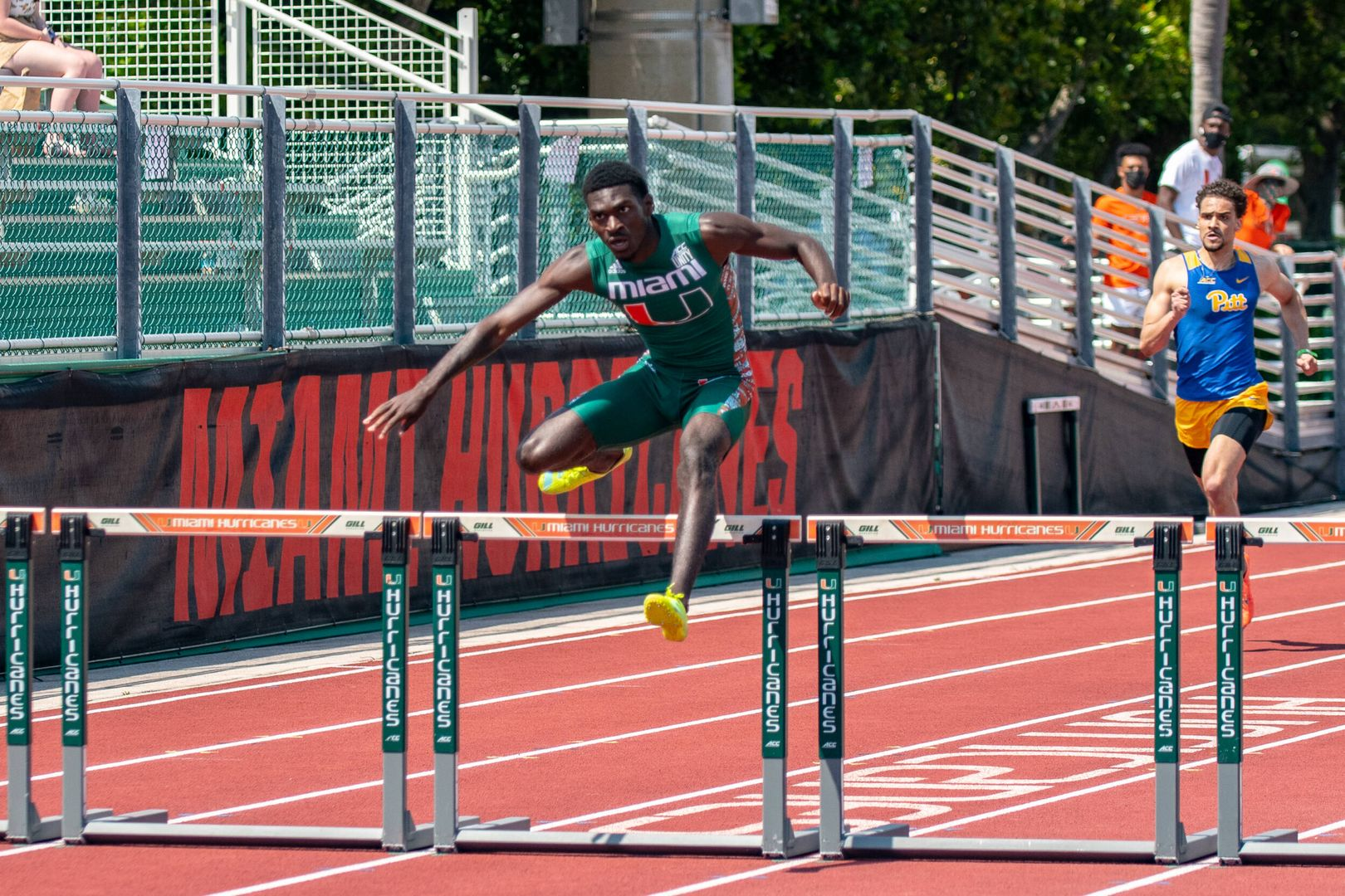 Three Canes Earn Track ACC Weekly Honors