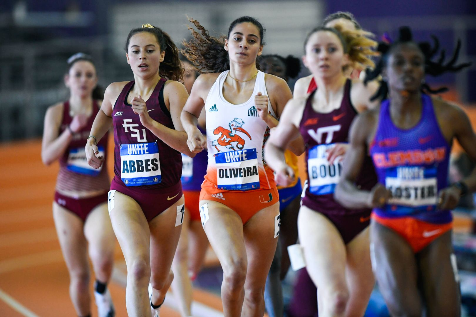 Four Canes Named to ACC Indoor All-Academic Team