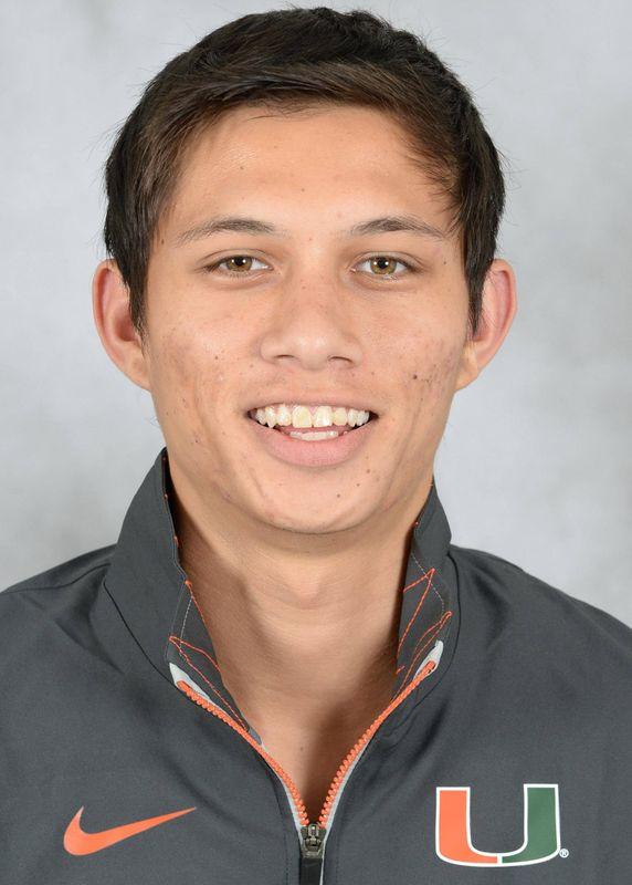 AJ Ricketts - Cross Country - University of Miami Athletics