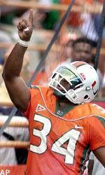 No. 2 Canes Too Much For Temple, 52-14