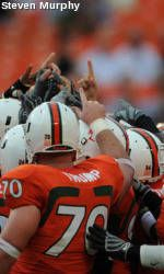 Miami-Wake Forest to Kick Off at Noon (ET) on Oct. 25