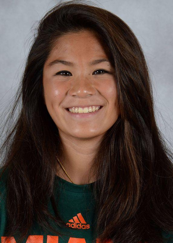 Roxanne Yu - Swimming & Diving - University of Miami Athletics