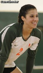 Lane Carico Named ACC Volleyball Player of the Year