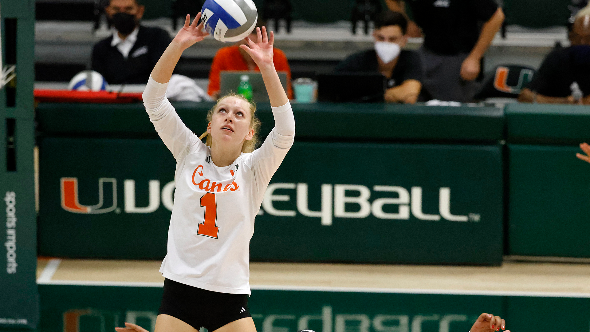 Vach Notches Double-Double in Canes Sweep of Notre Dame