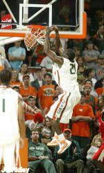 Miami Knocks Off Alabama St., 83-74