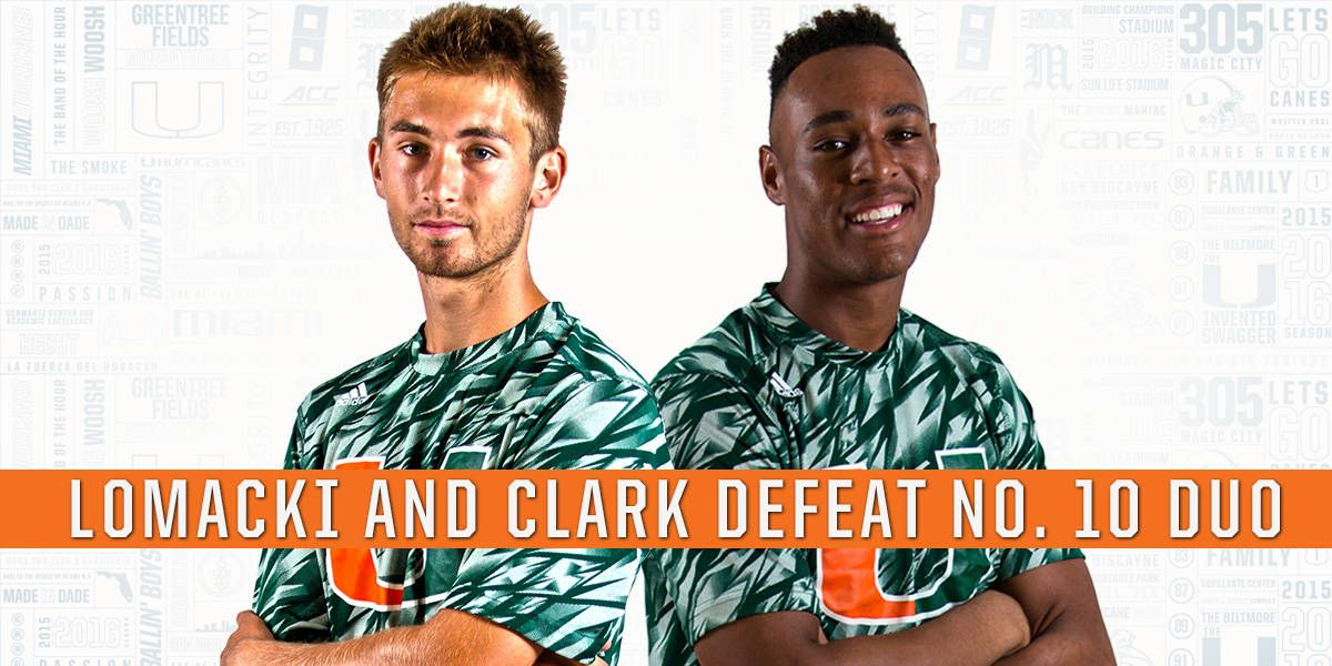 Lomacki/Clark Defeat No. 10 Duo from Virginia