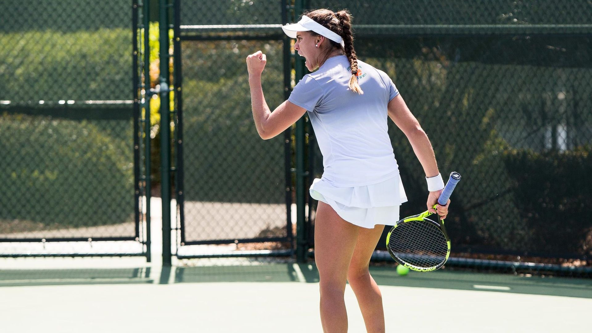 W. Tennis Downs FGCU, 6-1, to Open Doubleheader