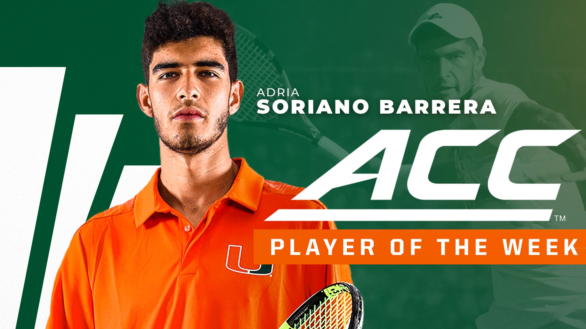Soriano Barrera Named ACC Player of the Week