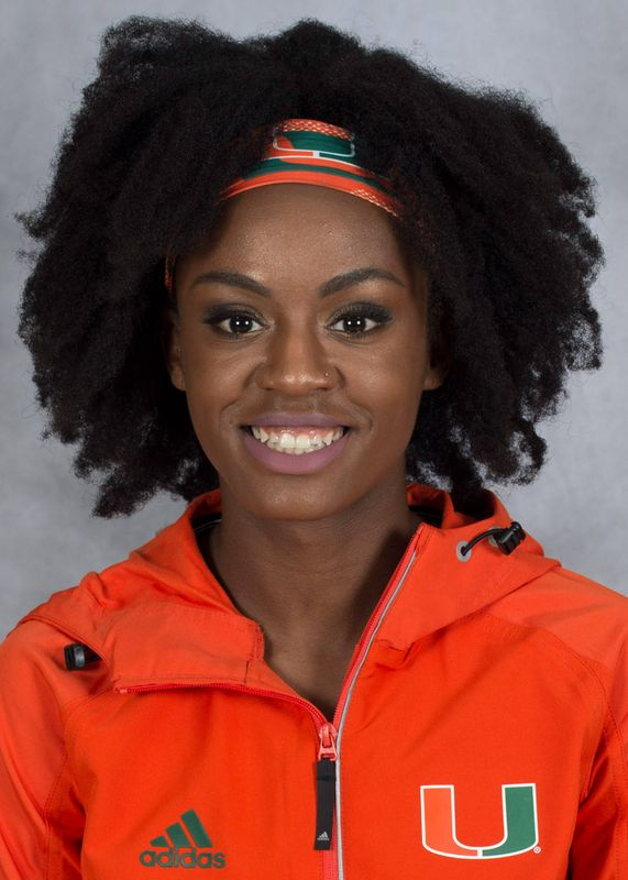 Aiyanna Stiverne - Track & Field - University of Miami Athletics
