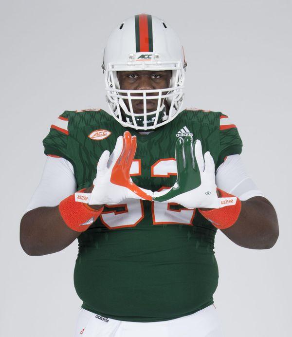 Cleveland Reed, Jr. -  - University of Miami Athletics
