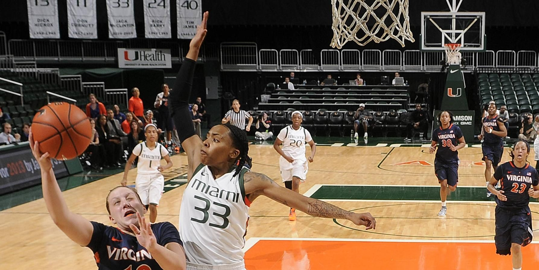 WBB Stays Perfect in ACC, Tops UVa, 58-52