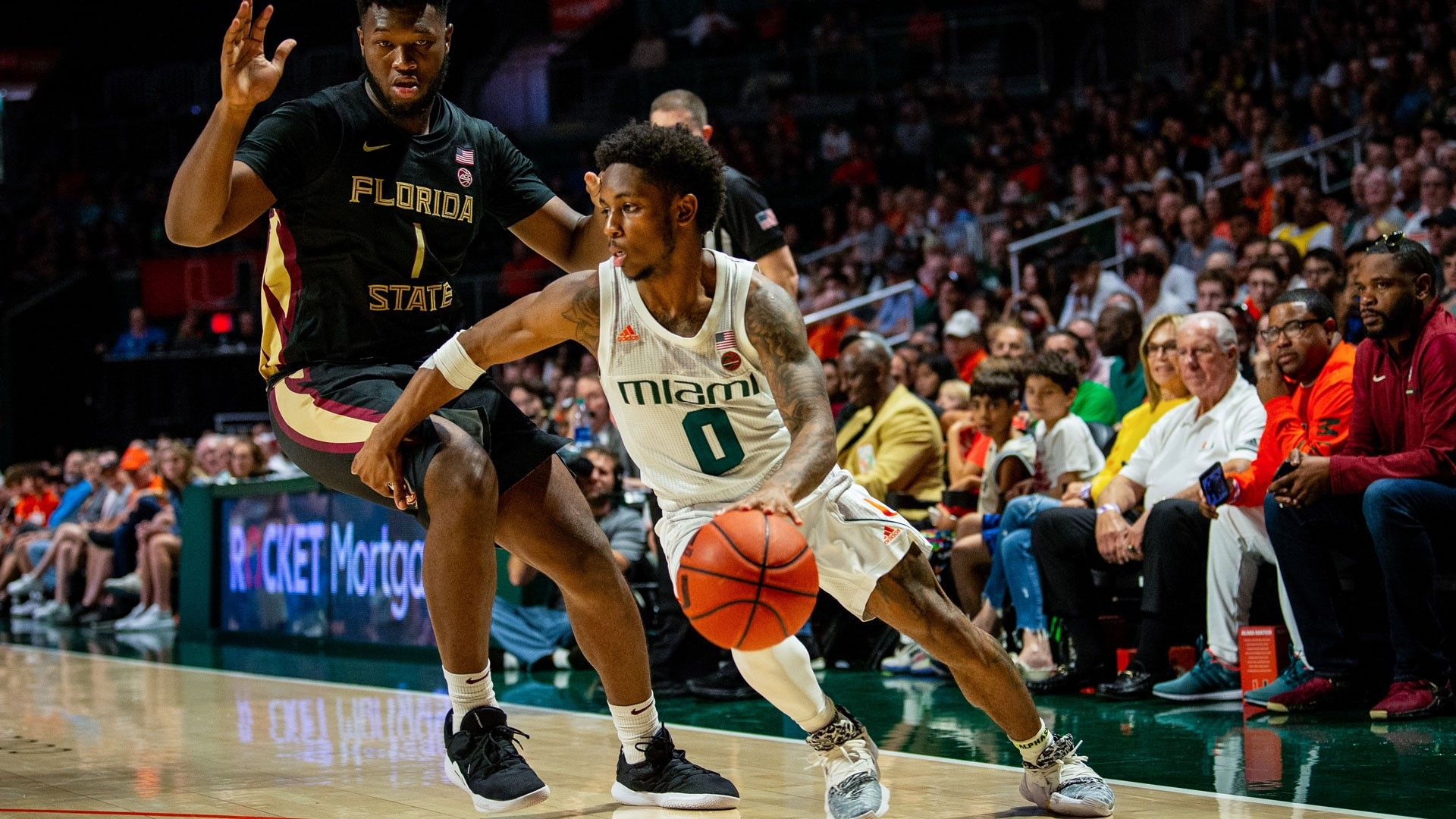 MBB Falls to Ninth-Ranked Florida State, 83-79, in OT