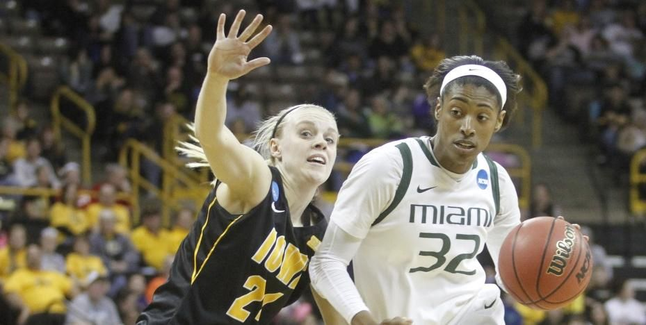 Women's Hoops Falls to Iowa in NCAA Opener - University of Miami Hurricanes Official Athletic Site