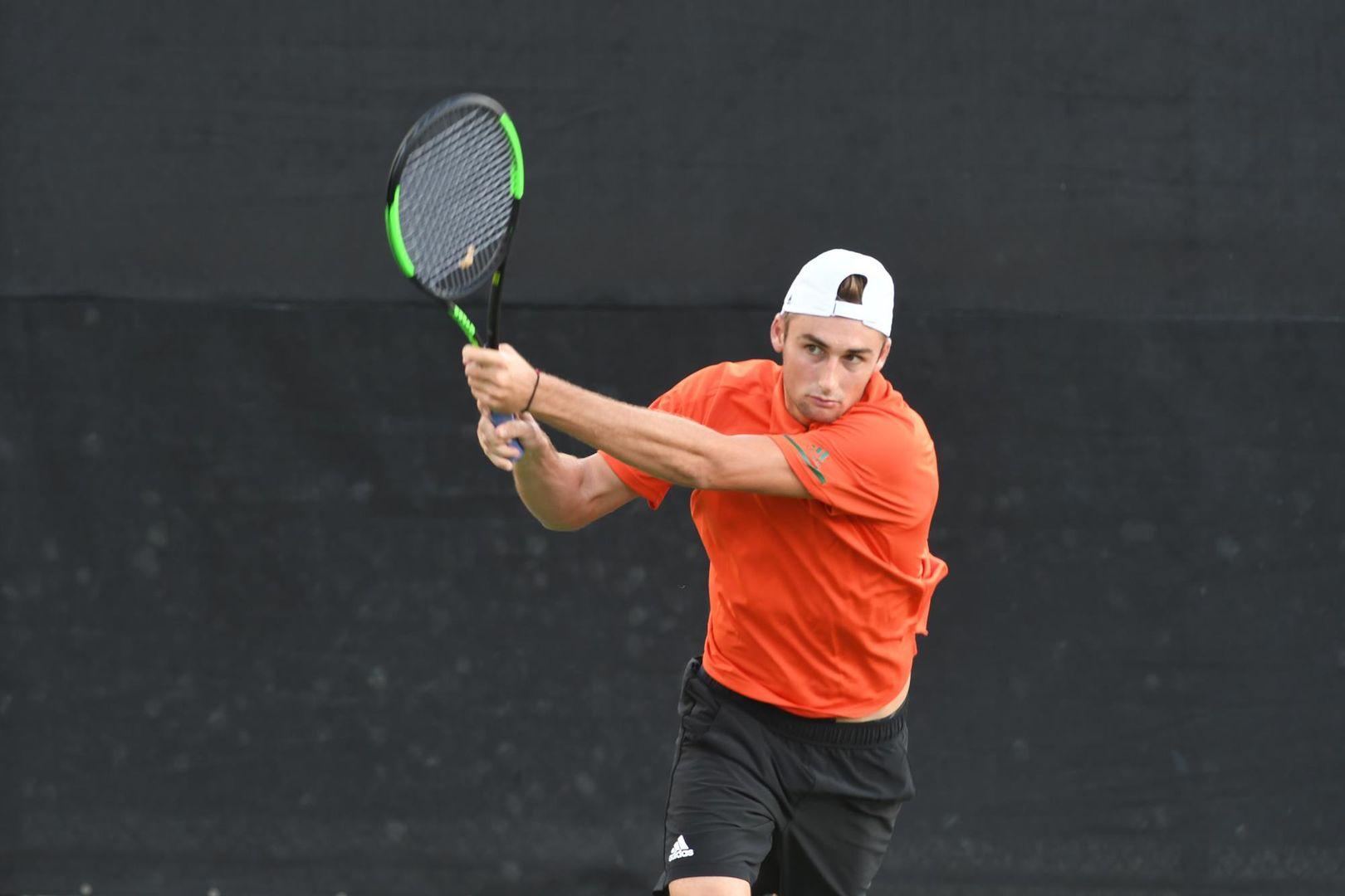 Miami Men's Tennis Concludes Play at ITA Regionals