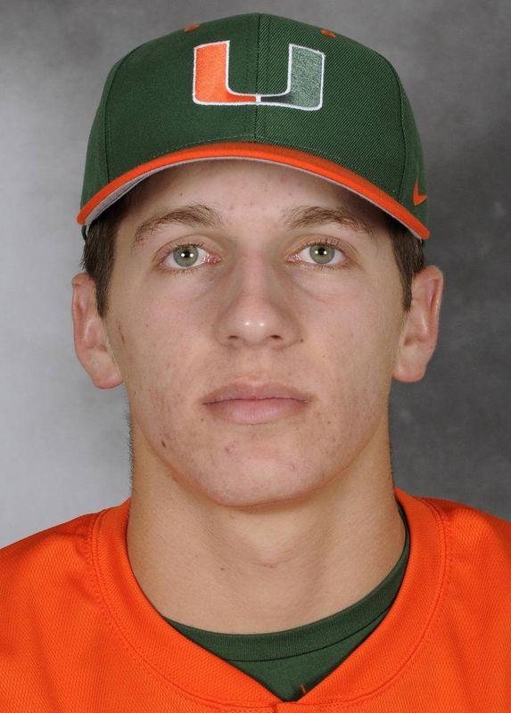 Adam Sargent - Baseball - University of Miami Athletics