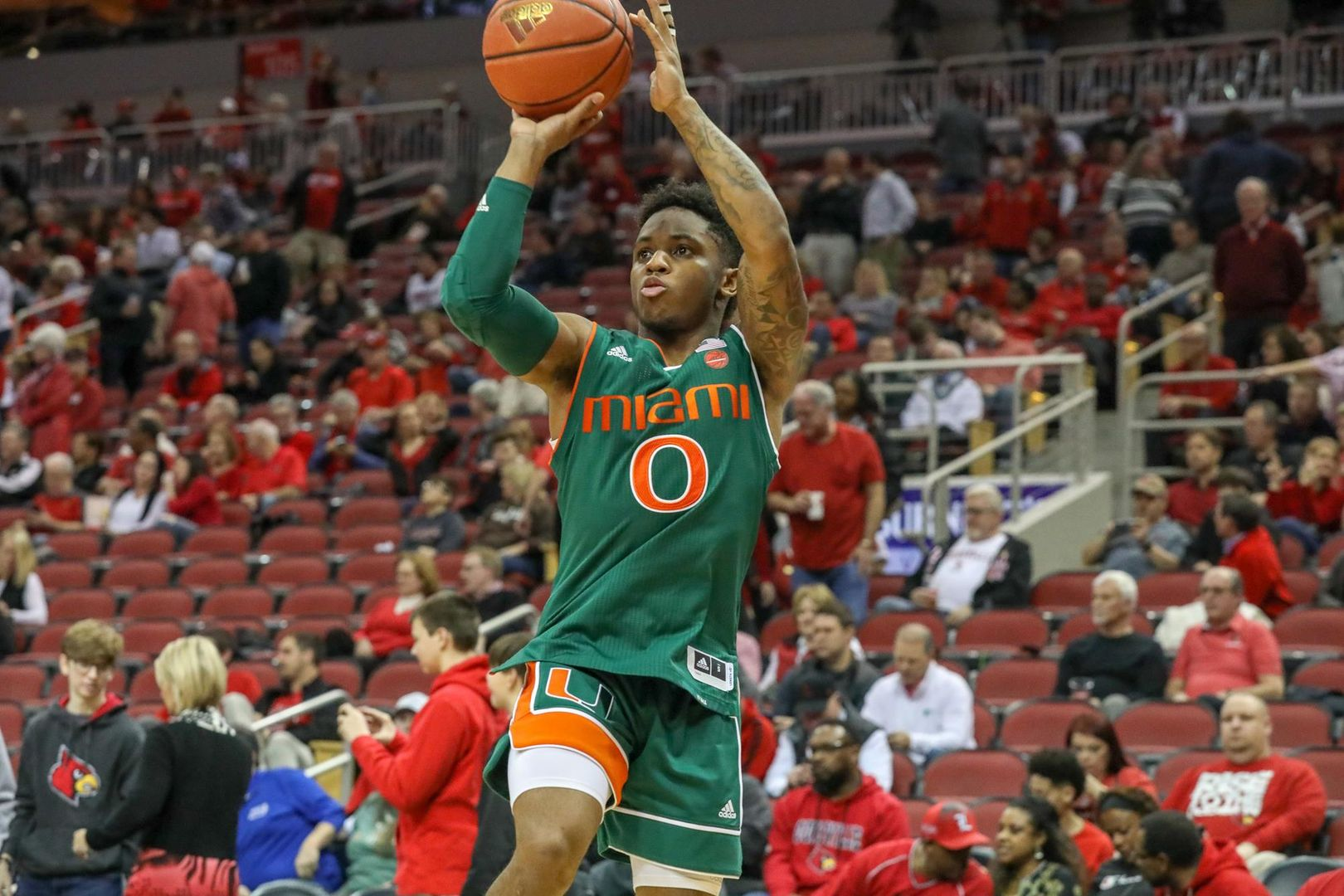 Canes Fall at Louisville, 90-73