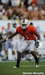 Three Hurricanes Named to All-ACC Academic Football Team