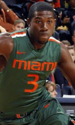 Canes Win First ACC Matchup, 76-73, Over Clemson