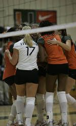 Eight Miami Volleyball Players Named to the 2004-05 ACC Academic Honor Roll