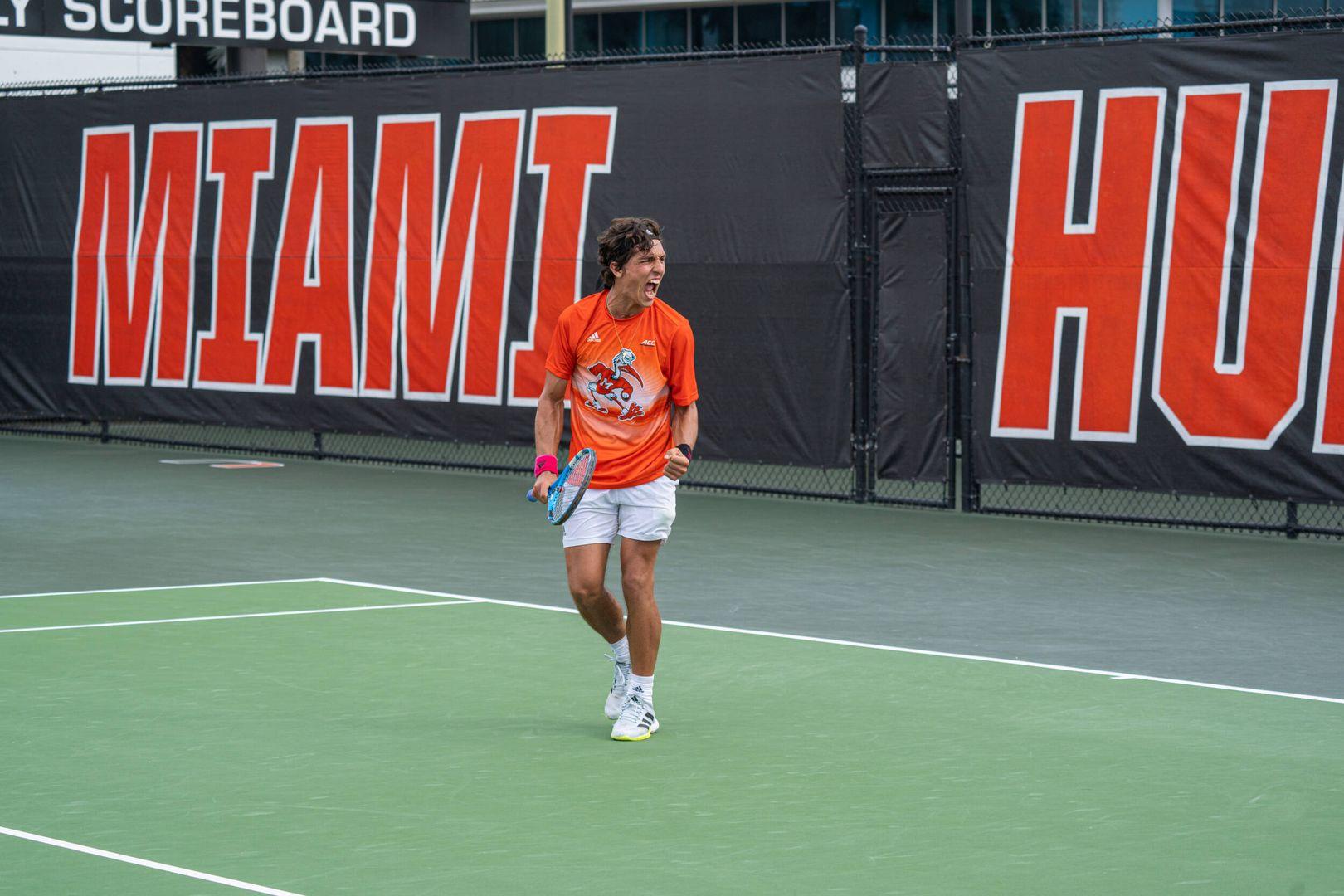 M. Tennis Secures 5-2 Triumph