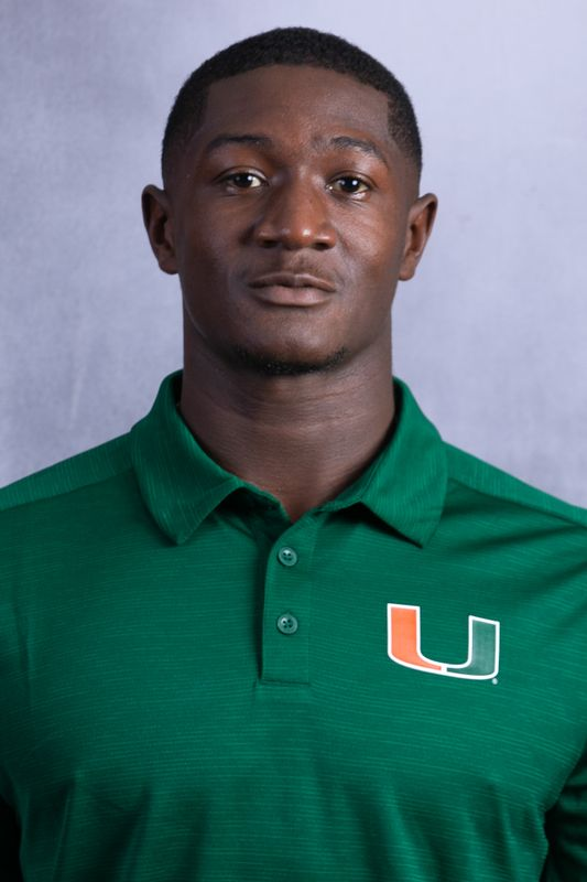 DJ Ivey - Football - University of Miami Athletics