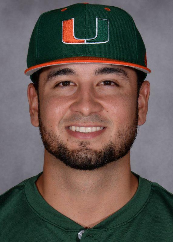 Edgar Michelangeli - Baseball - University of Miami Athletics