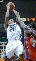 Hite's 21 Leads Canes Past Tigers