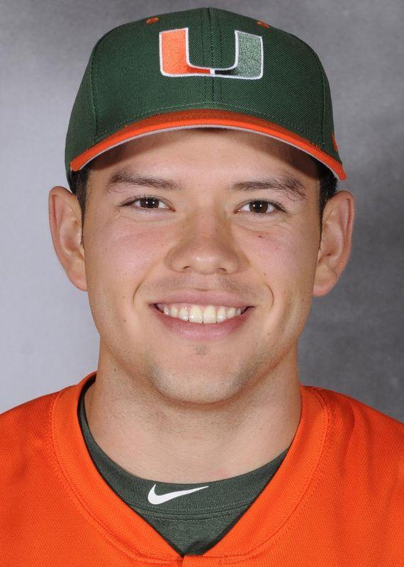 Chris Diaz - Baseball - University of Miami Athletics