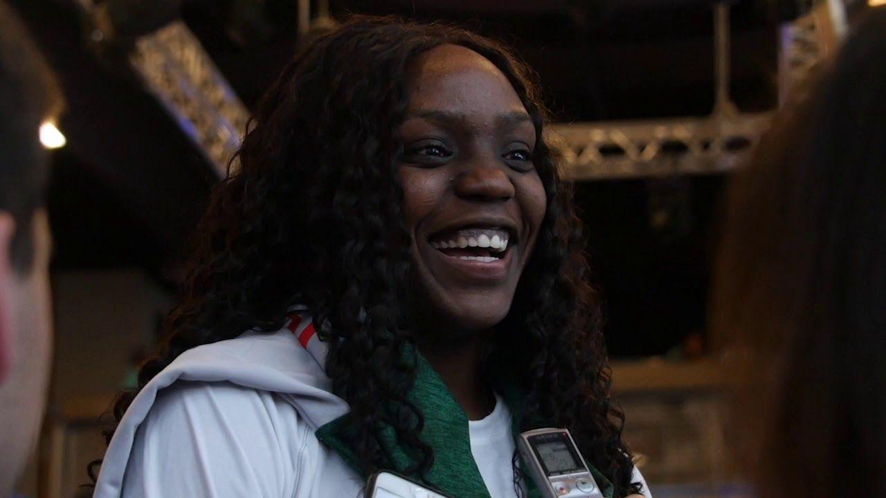 NCAA Selection Show Media Availability   Beatrice Mompremier   3.18.19