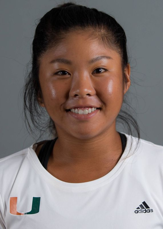 Wendy Zhang - Women's Tennis - University of Miami Athletics