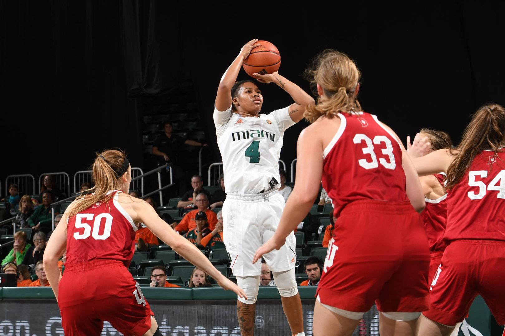 Canes Fall to Indiana in the Big Ten/ACC Challenge
