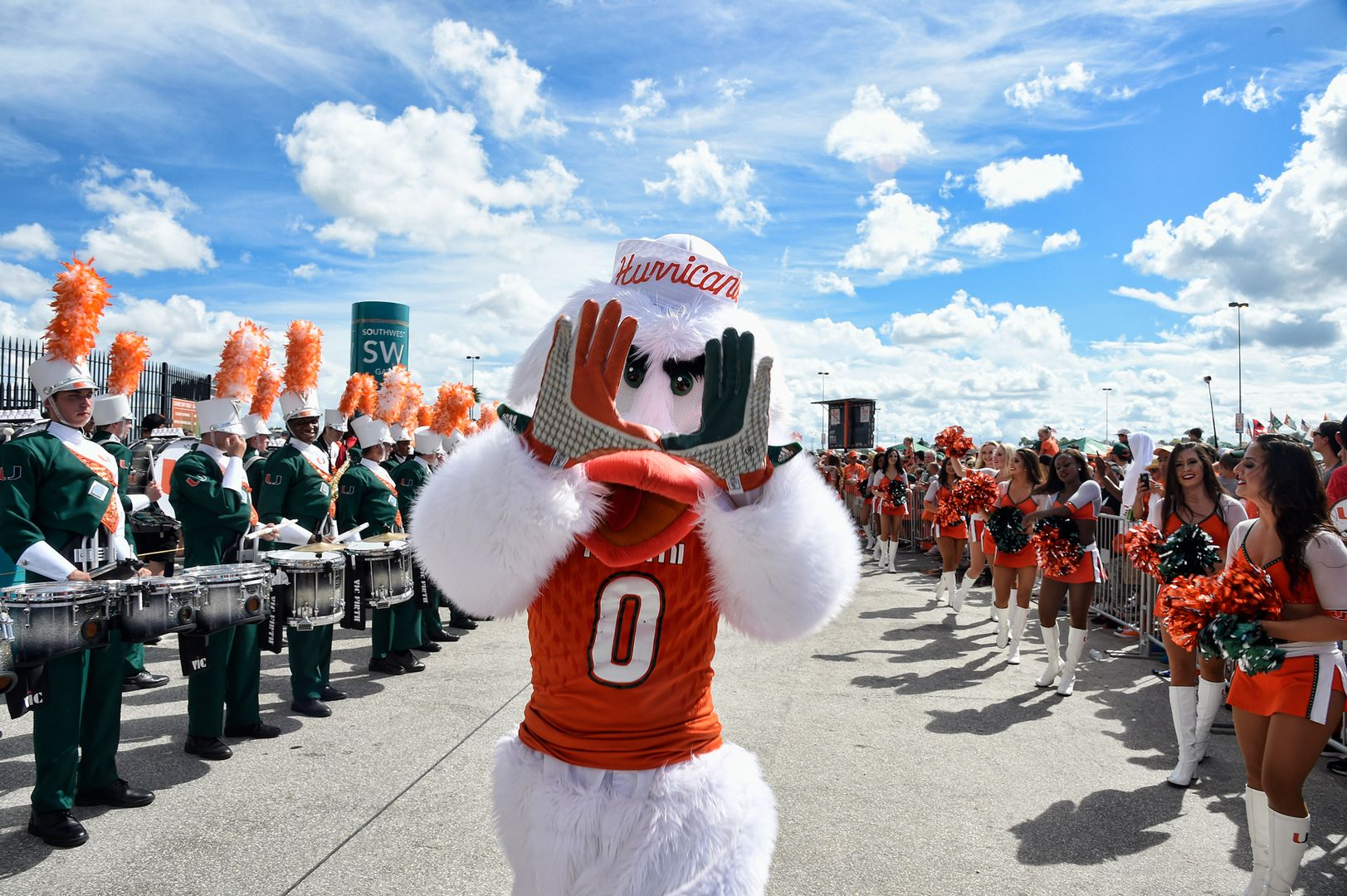 Miami Announces Football Matchup with Southern Miss