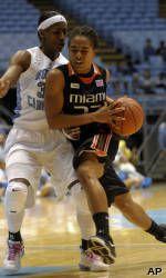 Miami Falls to Boston College in ACC Tournament, 76-59