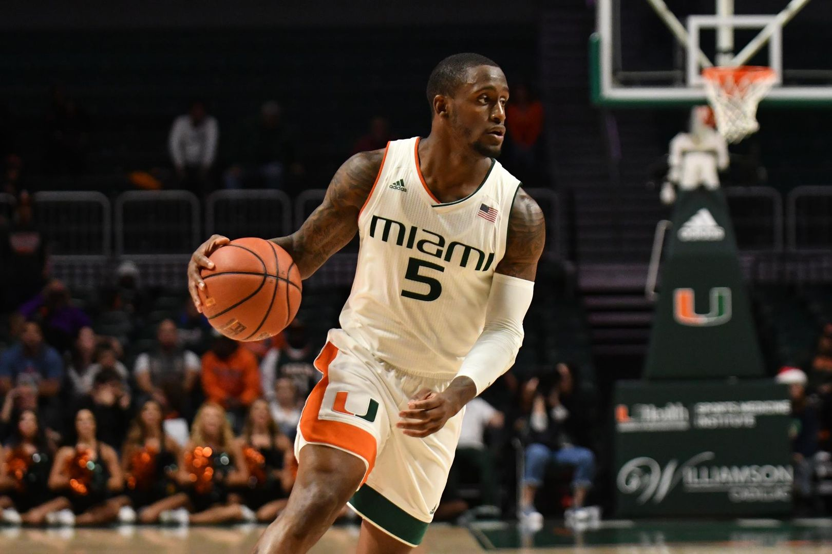 Canes Control Campbell in 73-62 Win