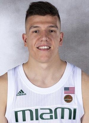 Dejan Vasiljevic - Men's Basketball - University of Miami Athletics
