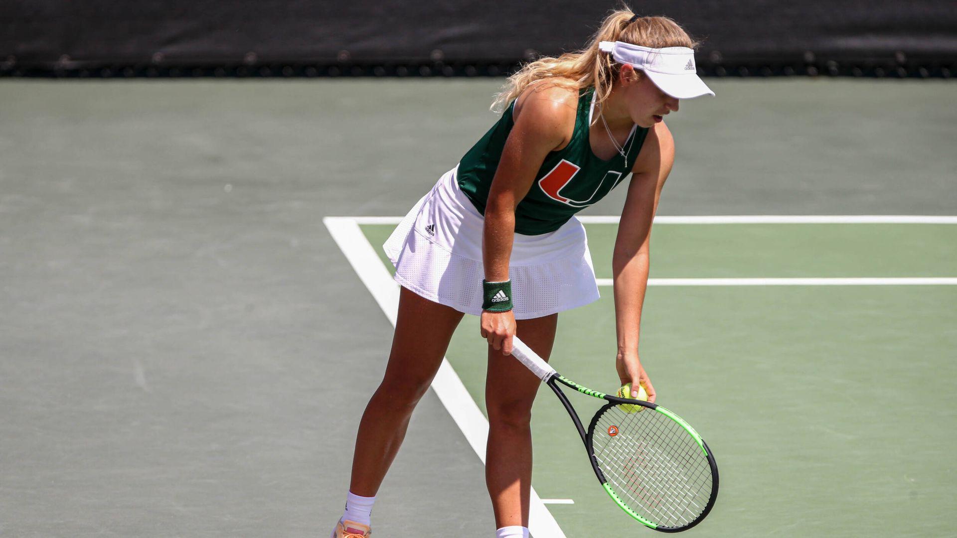 W. Tennis Drops 4-3 Heartbreaker at No. 4/5 Florida State