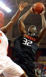 Hurricanes Fall At Clemson, 74-70, In Overtime