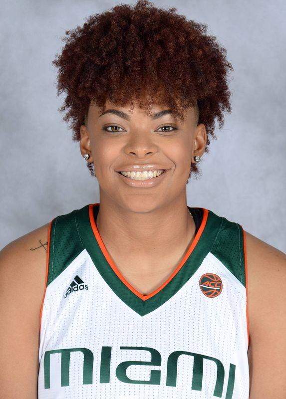 Zada Williams - Women's Basketball - University of Miami Athletics