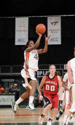 Hurricanes Fall to No. 21 Virginia in OT, 69-63